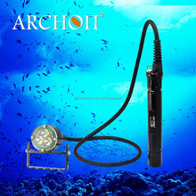 WH36 archon brand Led diving torch flashlight for security of people