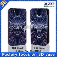 2013 hot selling wallet case for iphone 5, zooming effect