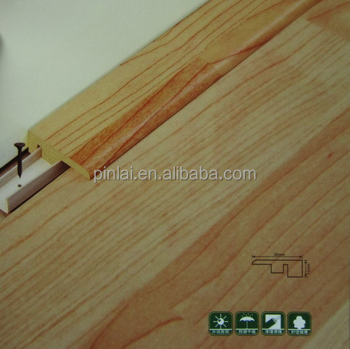 Laminate flooring wood molding quot type end cap buy