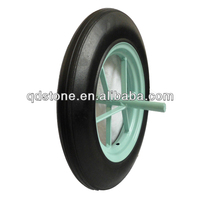 14x4 solid rubber wheel