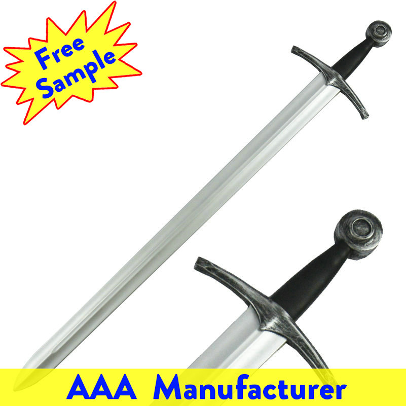 OEM Pakistan Stainless Steel Movie Sword Set Soft PU Toy Replica Plastic Samurai Swords
