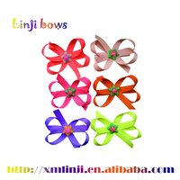 2016 wholesale fancy clover ribbon hair band