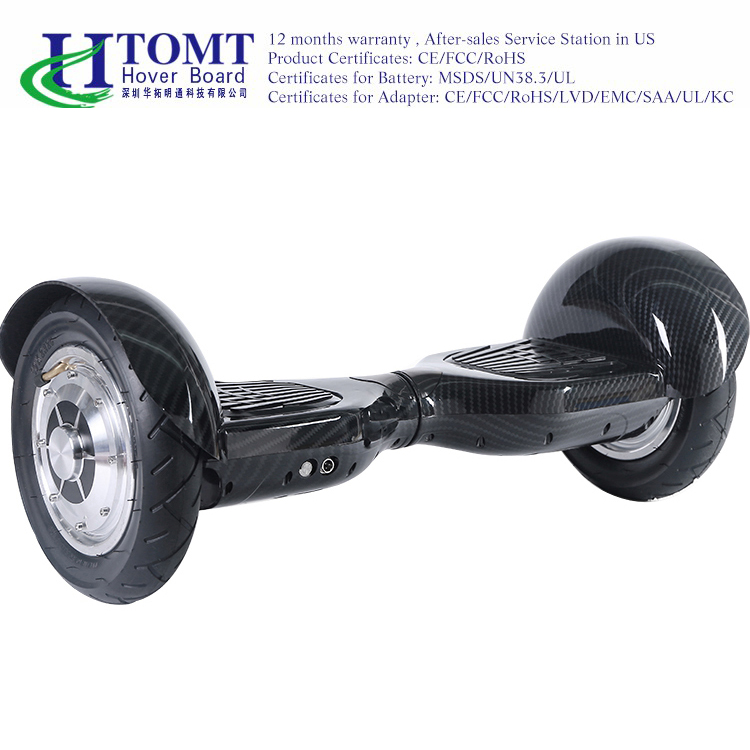 10 inch two wheels electric self balancing scooter free shipping