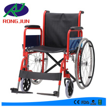 hot selling in Europe manual wheelchair with detachable armrest and footrest