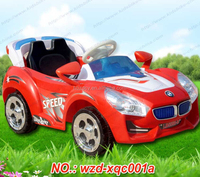 Kid car for 2-6years old child/baby games toy red color