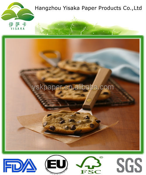 food safe square silicone baking paper