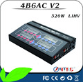 New Version! 4B6AC 4X80W Lipo Battery Charger with High-Voltage Battery Charging