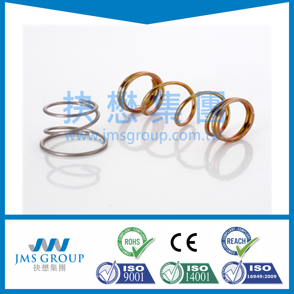 China supplier TS16949 custom for electronic components margani BSW-1/4H compression coil spring