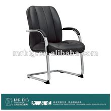 MR077C Chrome Waitiing Staff leather and chrome recliner