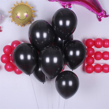 20PCS 12 Inch Halloween Party Thick Latex Balloons Orange Black latex Balloons