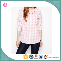 custom weatern plaid shirts check shirts for fashion girls