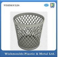 plastic injection grid garbage bin mould plastic recycle bin trash bin mould dustbin mould