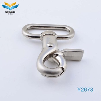 New product shoes accessories swivel carabiner hook