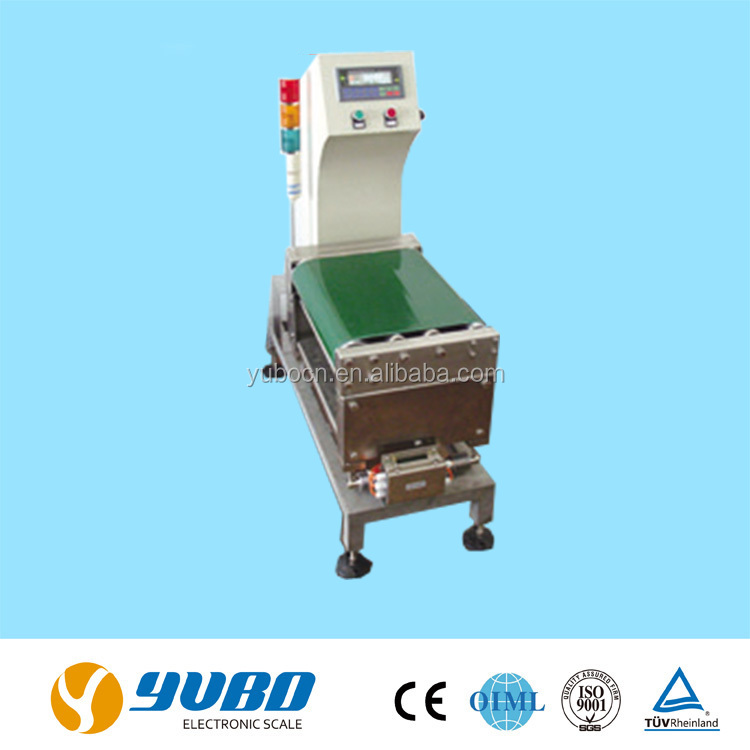Conveyor check weigher balance
