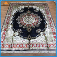 8x10 foot 244x305 cm cheap thin silk persian carpets london