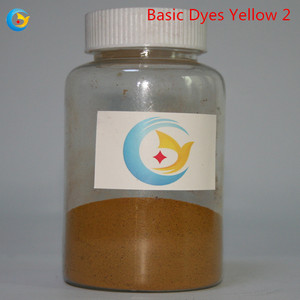Basic Dyes Yellow 2 color paper fabric dye color
