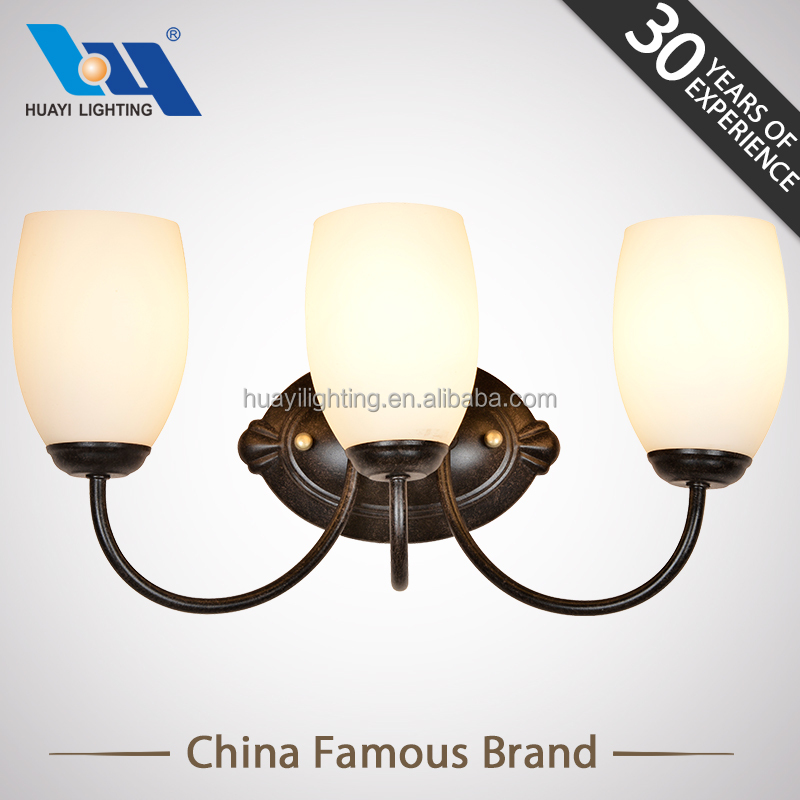 Quality assurance retro interior shine up and down wall light