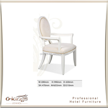 White chair restaurant luxury neo-classical style