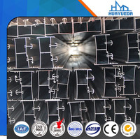 6000 series aluminum door section popular in China