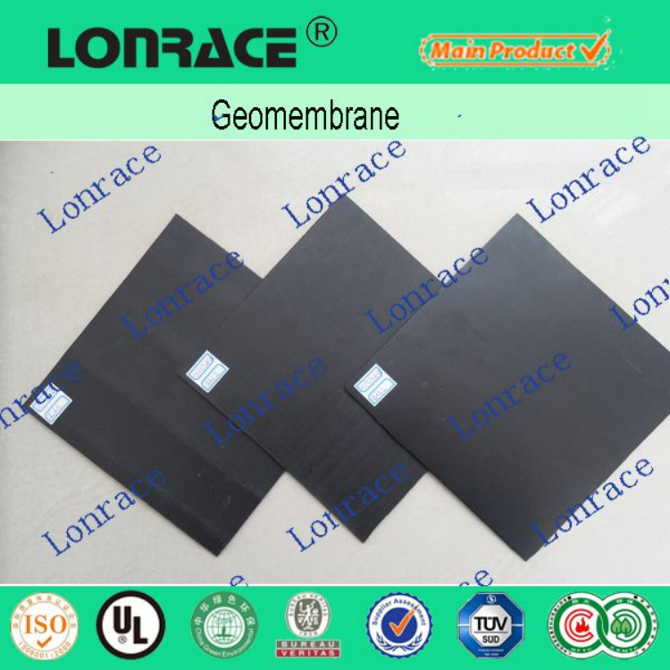 China supplier HDPE geomembrane outdoor fish pond