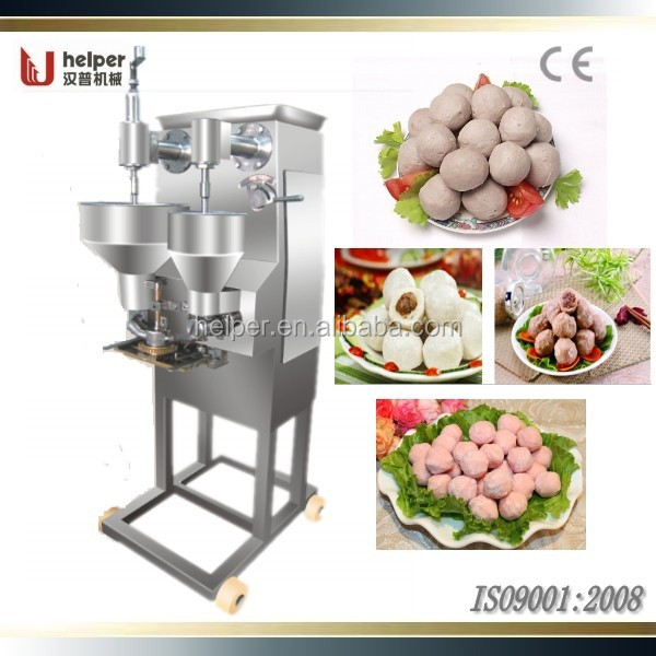 Automatic meat ball making machine