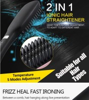 new straight hair comb PTC Ionic straightener fast hair comb