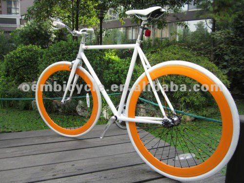 700C classic with white frame hot sale best sale newest style fixied gear bike