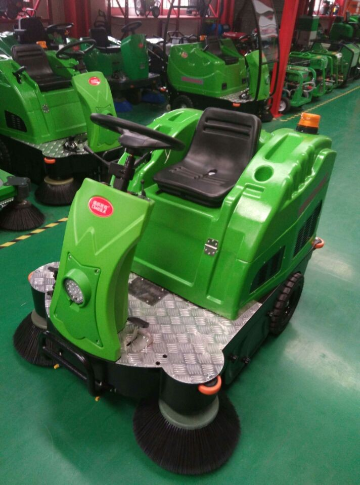 New design China band automatic sweeper Machine
