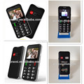 GSM Dual SIM Ultra Slim Citizen Senior mobile Phone With SOS Button loud speaker