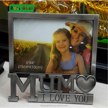 Wood photo frames for Mother's Day and Father's Day- love picture photo frame