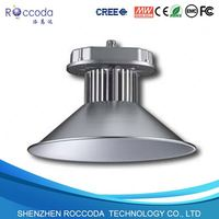 Led High Bay Light Fixture 70deg PC reflector with lens cover