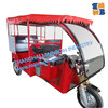 Battery auto electric tricycle for passenger 60v 1200W Brushless
