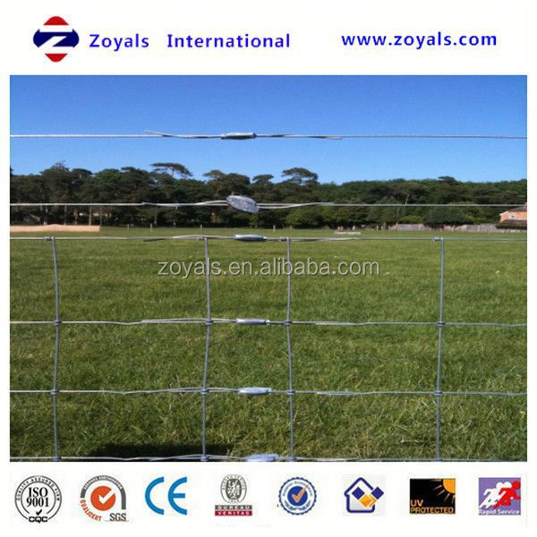 Professional ISO Manufacturer high strength hot-dipped galvanized cattle fence/sheep and goat fence