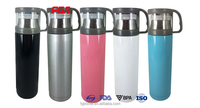 Thermos flask 500 ml stainless steel bottle with a cap
