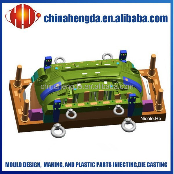 Professional making plastic auto bumper mould