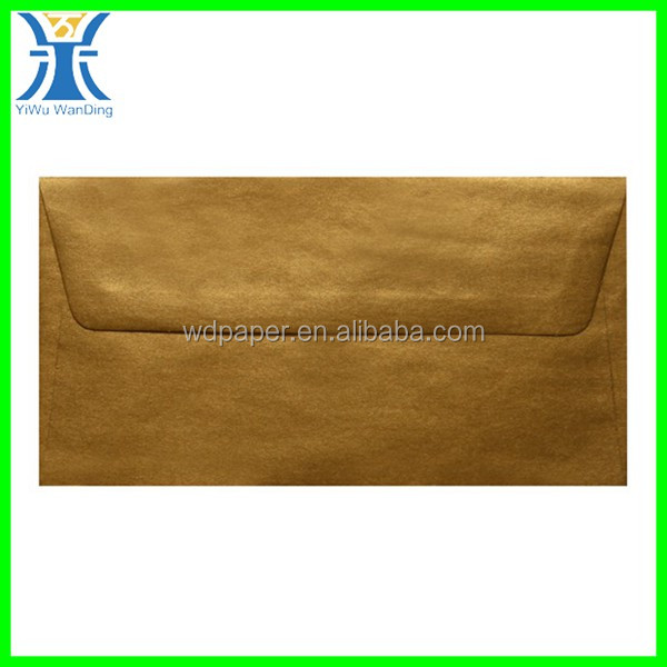 Yiwu New Arrived Gold Brown Cheap Natural Color Kraft Bubble Padded Envelope
