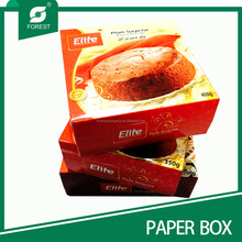 PAPER FOOD PACKAGING PAPER CAKE BOXES /LUXURY IVORY BOARD CUPCAKE BOXES
