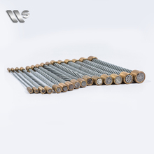 1150Mpa Multifunctional Armoured Cable electric galvanized Steel Wire Strand
