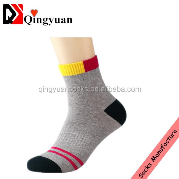 hot sale men elite high quality fancy comfortable 100% cottonbreathable sport socks