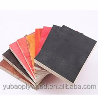 yubao brand formwork concrete made in china modulus of elasticity plywood