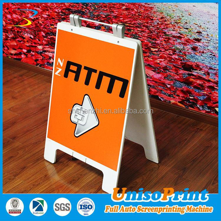 Wholesale new products illuminated holder plastic a frame sign