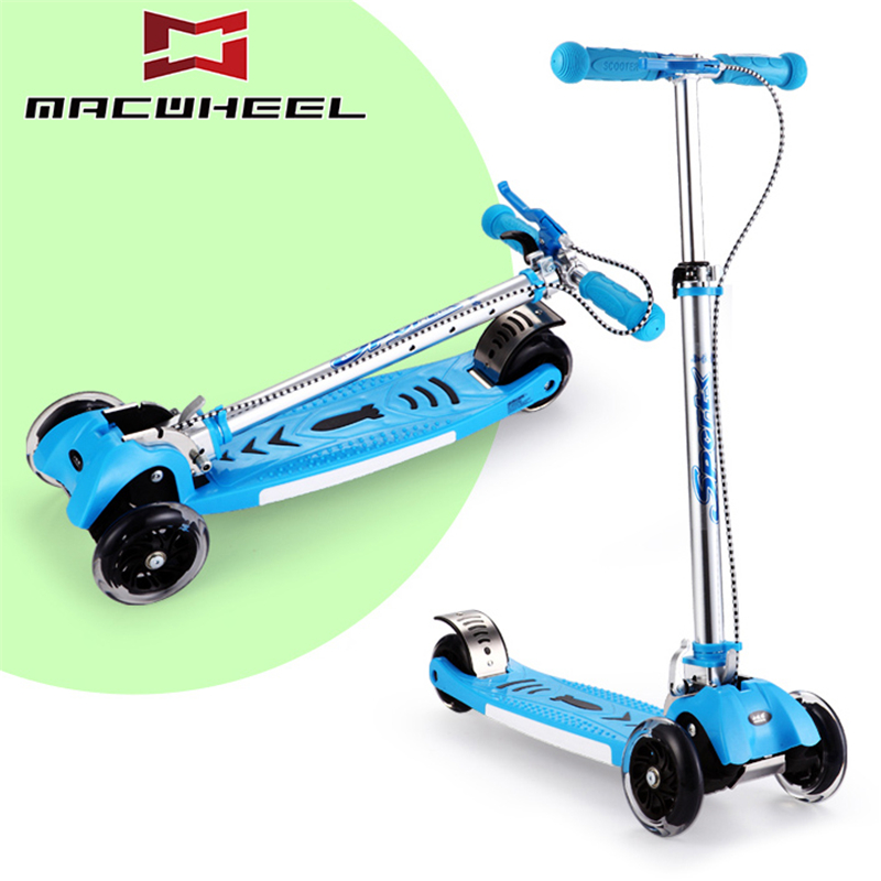 3 wheels kids scooter foldable made in china for sale