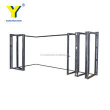China gold supplier Popular USA&Australia style exterior glass accordion folding door price