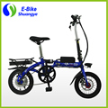 EN15194 approved 14'' 36v 250w folding mini e bike