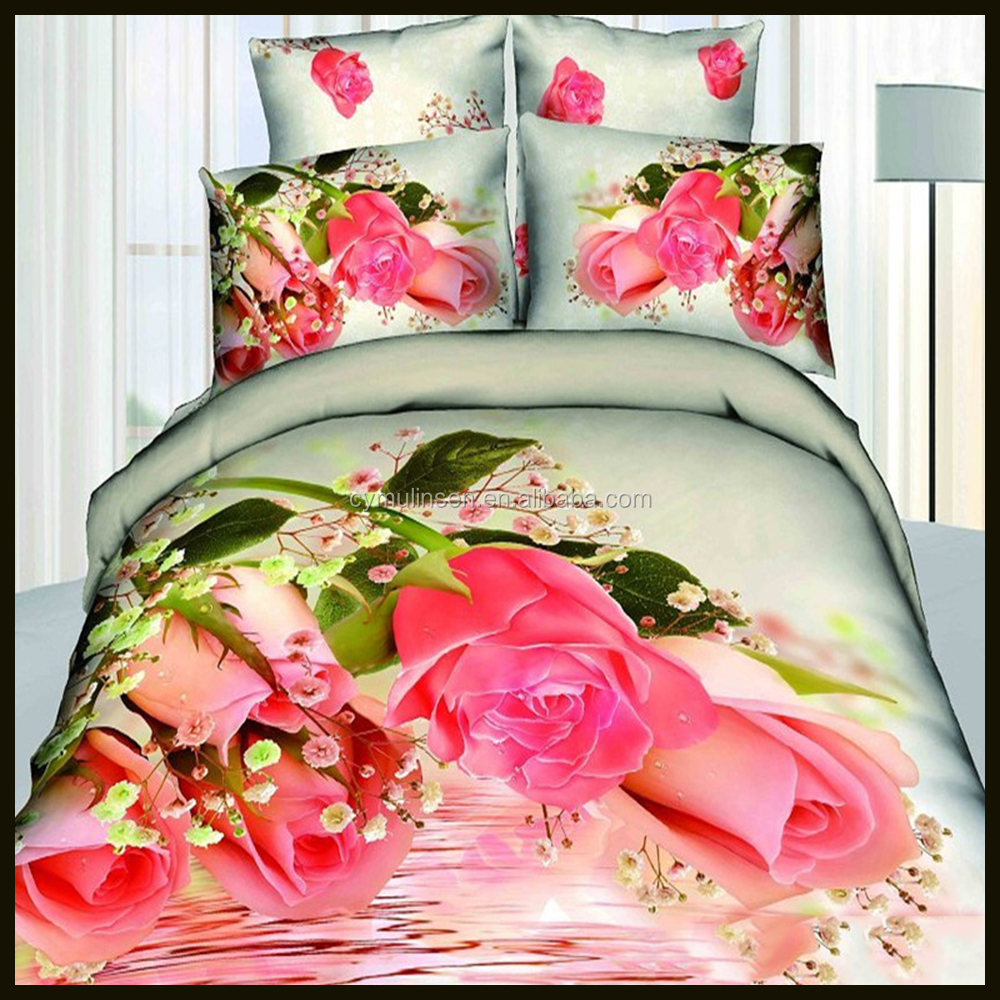 wonderful and latest comfort polyester bed sheet designs 65 85 gsm