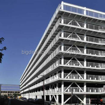 High Rise Multi-Storey Prefabricated Steel Structure Office Building