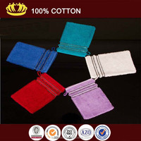 100 cotton terry solid color super absorbent wash cloth