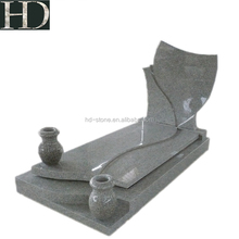 Natural Stone Carve Grey G603 Granite Tombstone Gravestone Monuments Headstone Cheap Price