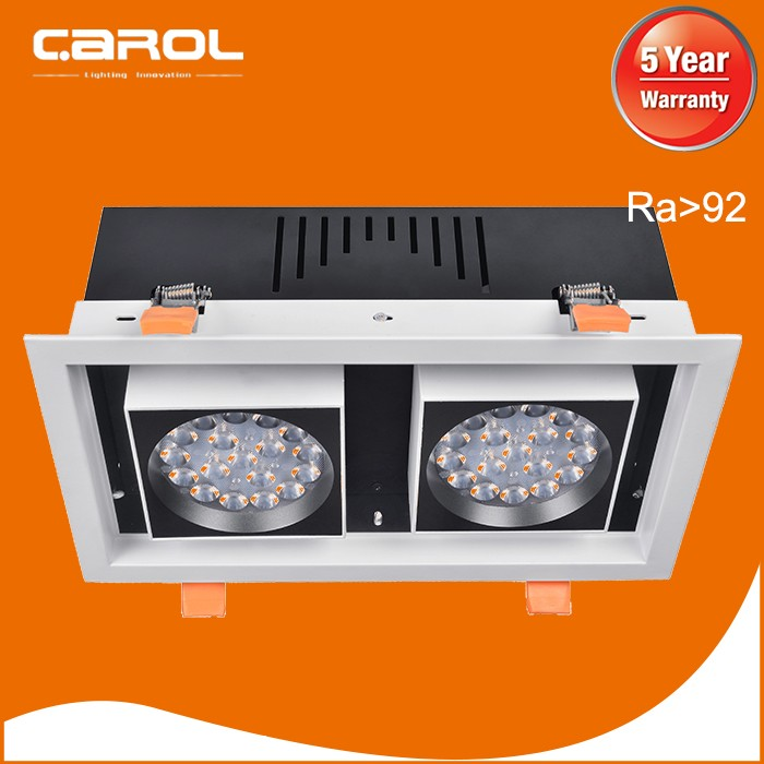 CE ROHS LVD EMC High CRI dimmable led grille light with office led lighting