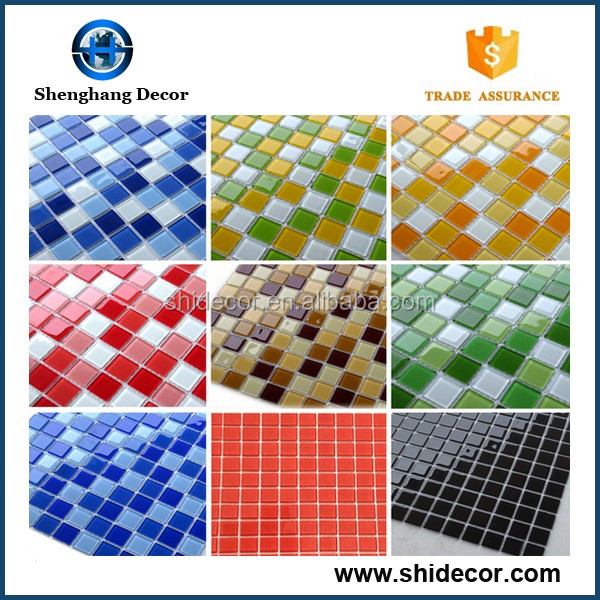 Best Selling mosaic tiles of glass materials crystal glass mosic tiles